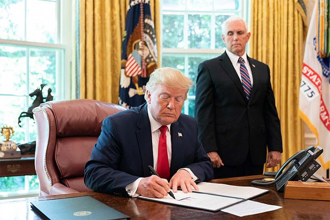 Trump signs new executive order