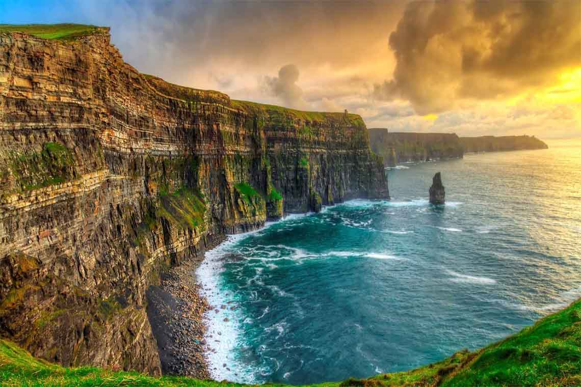 Ireland visa stamps